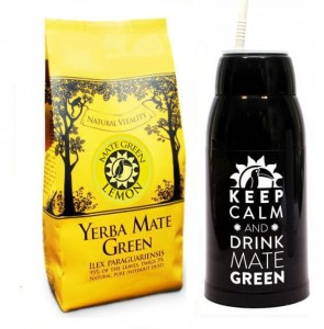 YERBA MATE GREEN LEMON - 400 g zestaw